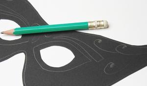 KROK III – Rysowanie wzorów na masce