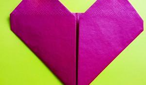 KROK VI - Zaginanie kształtu serca